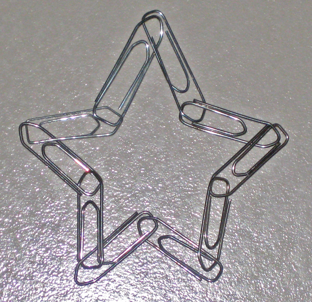 Image result for paper clip chain