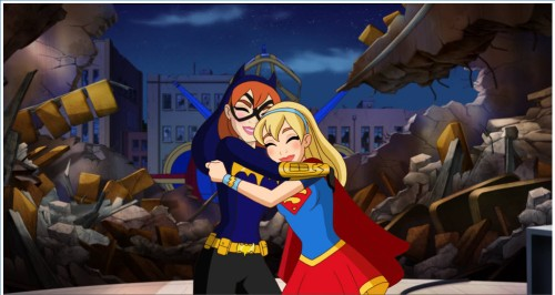 Image result for Supergirl hugs