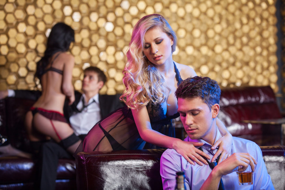 Male strip clubs in vegas cannot tell