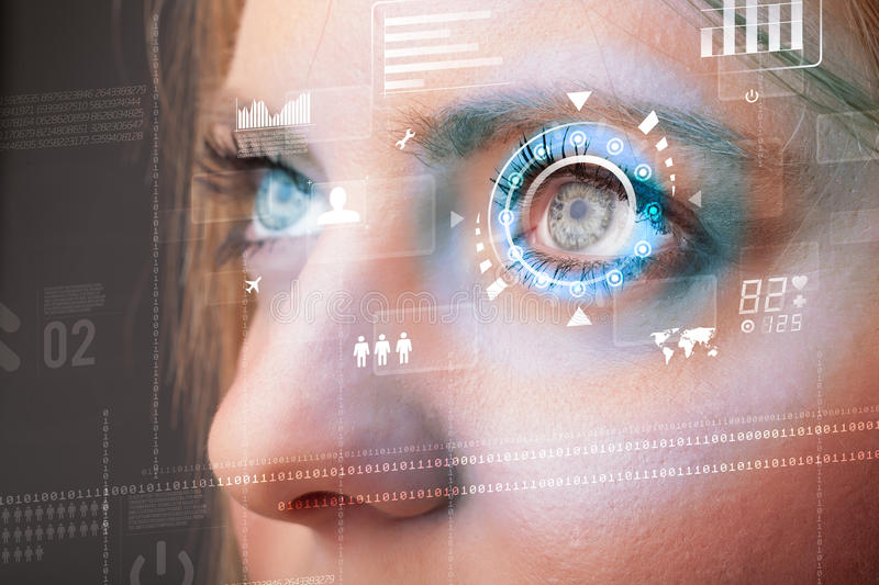 future-woman-cyber-technology-eye-panel-concept-33807025