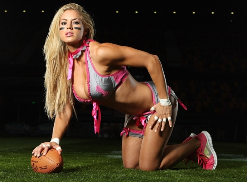 Lingerie Football League - Media Call