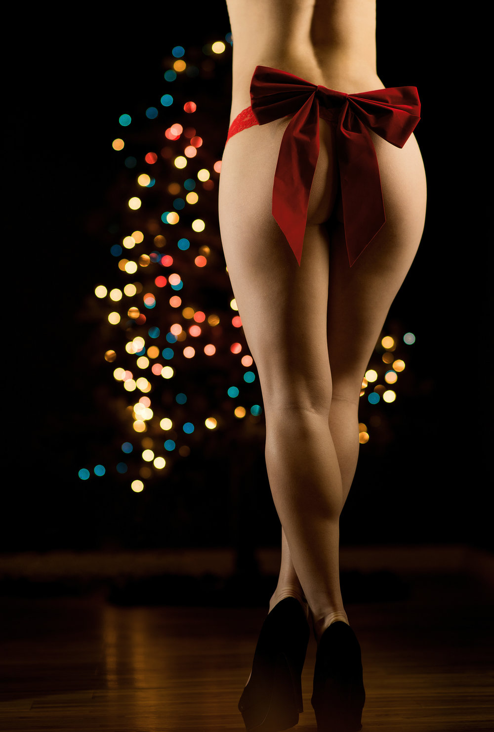 Merry Christmas Boudoir photography