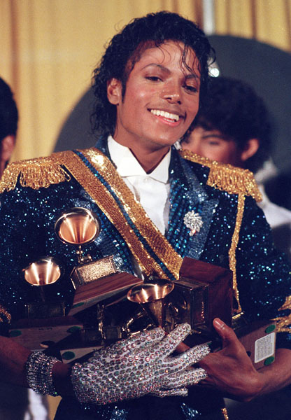 JACKSON GRAMMY AWARDS 1984